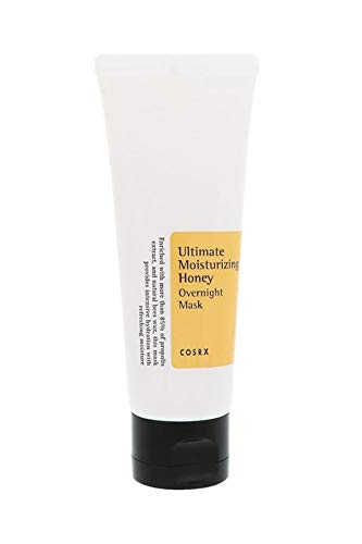 COSRX Ultimate Moisturizing Honey Overnight Mask, 60ml / 2.02 fl.oz |...