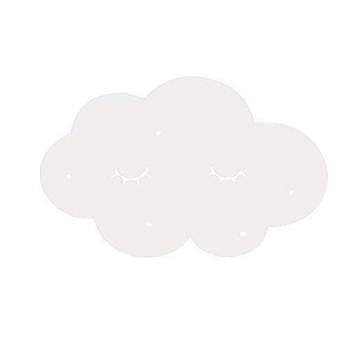 Janly Clearance Sale Espejo de acrílico nórdico con dibujos animados para cámara de pared, decoración de pared para habitación de niños, decoración del hogar para el día de Pascua (B)