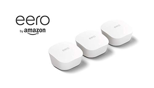 Amazon eero mesh WiFi system – router replacement for whole-home coverage (1 eero router + 2 Beacons) 12 Fast standalone router - The eero mesh WiFi router brings 1,500 sq. ft. of fast, reliable WiFi to your home. Maximum flexibility - Expand your system anytime with eero's cross-compatible hardware. Works with your internet service provider - eero connects to your modem to bring your existing internet connection to every corner of your home.