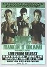 Rich Franklin; Forrest Griffin; Yushin Okami (Trading Card) 2010 Topps UFC Series 4 - Fight Poster Review #FPR-UFC72
