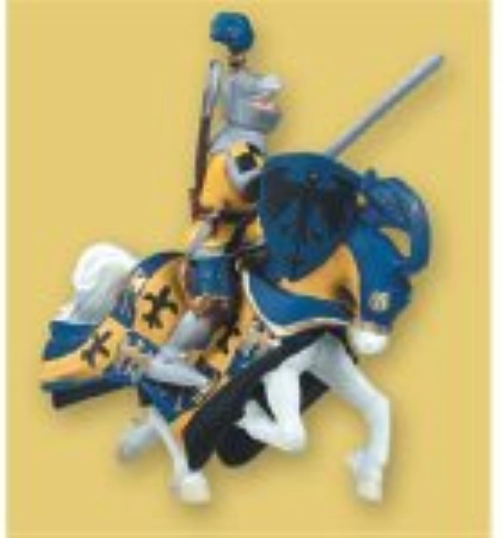 39371 - PAPO Ritter - Pferd mit Federbusch, blau B00061MKJW Der Schatz des Kindes, unser Glück | Zuverlässiger Ruf