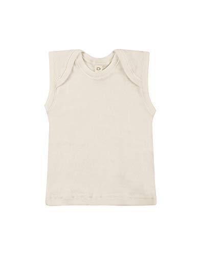 Dilling Dilling Merino Hemdchen für Babys aus 100% Bio-Merinowolle Natur 80