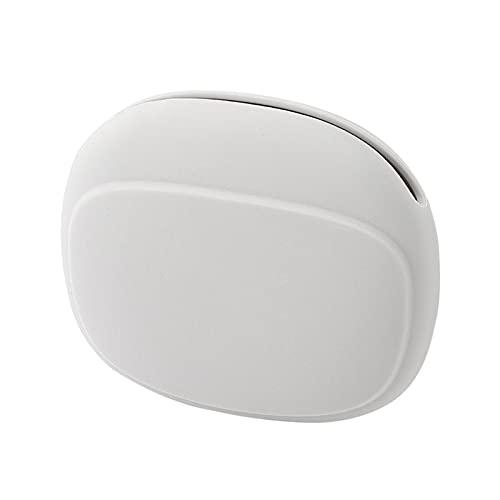 DreamMespace Caja de almacenamiento Silicona Proteger Para el Hogar Color Gris Gel de Sílice Auriculares Casos Durable Portátil Organizador de Auriculares