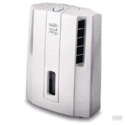 DeLonghi DES 12 - Deshumidificador para habitaciones hasta 55 m³, 180 W, color blanco