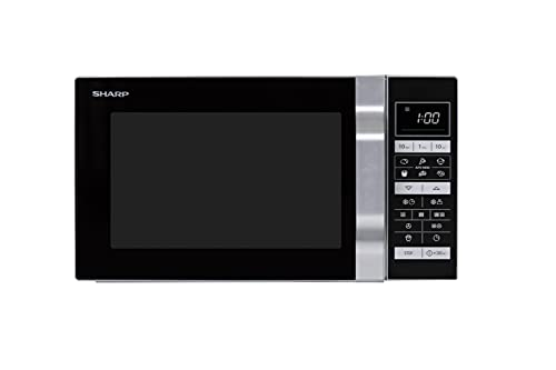 Sharp R-860S 3-in-1 Mikrowelle, Grill...
