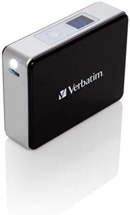 Verbatim tragbares Akkuladegerät 5.200 mAh, Pocket Power Pack 49948, Universal-Ladegerät, LED Statusanzeige