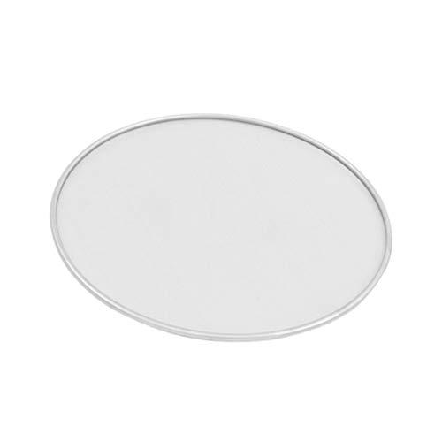 Hemoton Fett-Spritzschutz für Bratpfanne Edelstahl Spritzschutz für Pfannen Heißes Öl zum Kochen, 25 cm