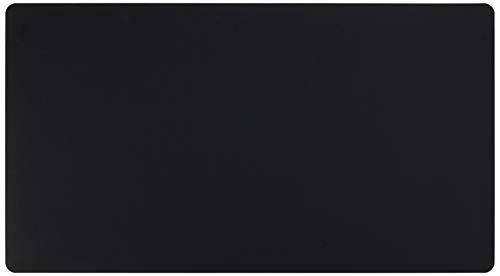 "Artistic 20"" x 36"" Eco-Black Desk Pad with Microban, Black"