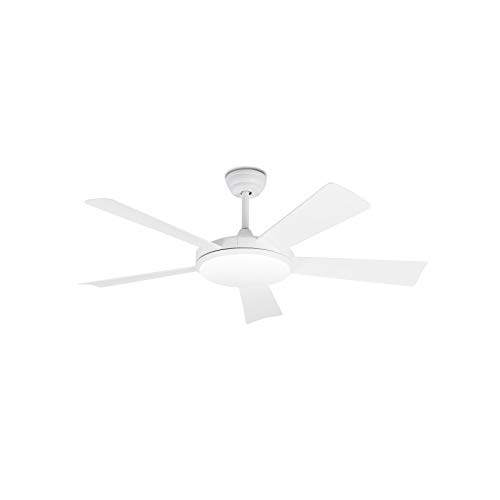 Faro Barcelona 33803 - SAONA LED Ventilador de techo blanco con motor DC
