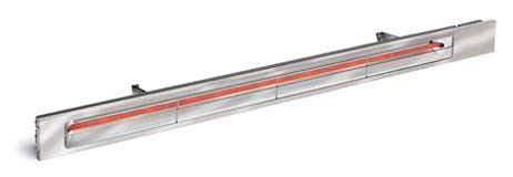 Sale!! Slimline Quartz Electric Patio Heater Finish: Bronze