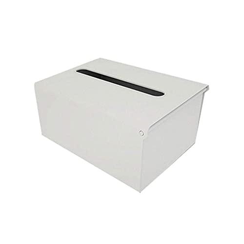 Caja de tejido de cocina Toalla de papel Montado en la pared Caja de almacenamiento Papel de cocina Caja de papel Servilleta de plástico Dispensador Titular de papeles de inodoro (Color: a) LNNDE