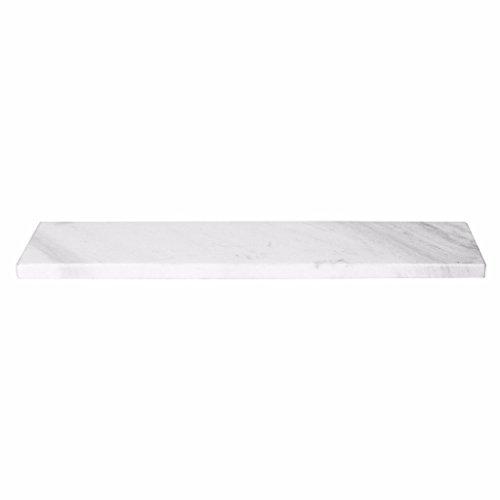 Plateau de marbre blanc 60 x 12 x 1 cm, broste copenhagen