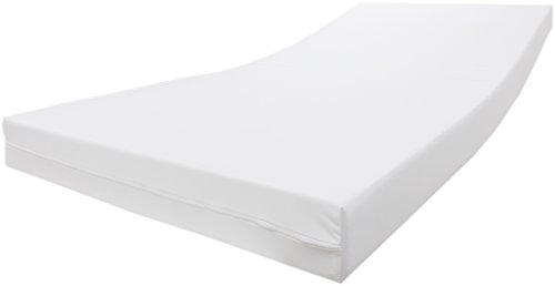 Dibapur® incontinencia estándar Colchón de espuma fría 12cm con funda impermeable, 160 x 200 cm