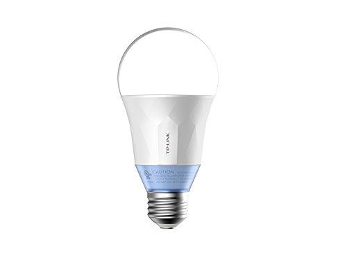 TP-Link LB120 Smart Wi-Fi Lampadina LED, Luce Regolabile, E27, Controllo da Remoto, Compatibile con Android, iOS e Amazon Alexa, 60W(2700K-6500K), Risparmio Energetico, standard, vetro - plastica