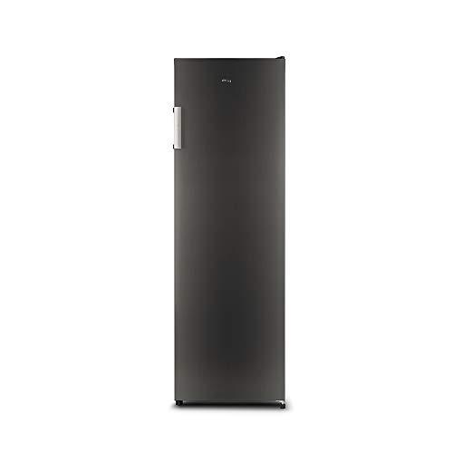 CHiQ CSD206NE4 Congelador vertical con refrigeración por aire 206L, Total No Frost, Color Inox oscuro, Altura 1.70m, Silencioso 43dB, Compresor 12 años de garantía