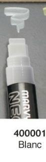 DTM - krijtstift in witte Jumbo voor Bistro, ideaal voor raam of lat, 16 mm