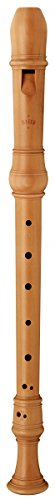 Alt-Blockflöte MOECK 4302 Birnbaum 3-teilig, barocke Griffweise