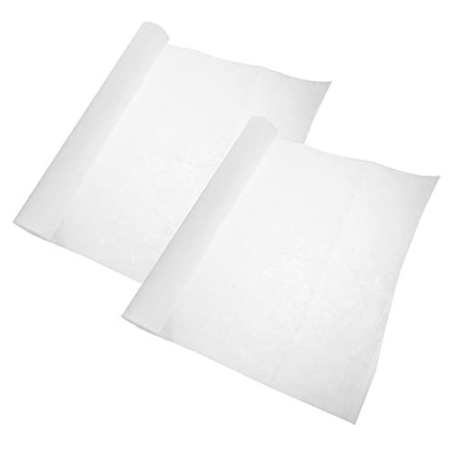 iplusmile 2 Rollen Dunstabzugshaube Öl Filter Papier Dunstabzugshaube Filter Papier Dunstabzugshaube Öl Proof Filter Aufkleber Öl- Absorbieren Papier Für Herd Haube Dunst Fan Küche Werkzeuge