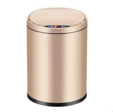 LLDKA keukenmachine automatisch met sensor Intelligent deksel vuilnisemmer huissalon oplaadbaar champagne goud huis USA Quotidien2019