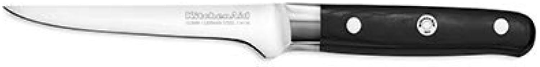 Kitchenaid Ausbeinmesser, Edelstahl, Silber-schwarz 12 x 3 x 2 cm B01ECI7RX8