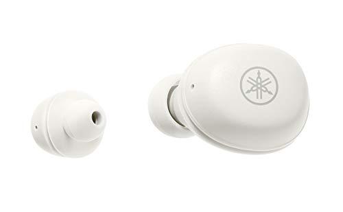 ヤマハ完全ワイヤレスイヤホンTW-E3A(W):リスニングケア/Bluetooth/最大6+18時間再生/生活防水IPX5相当/専用アプリ対応/AAC・aptX対応/マイク搭載ホワイト