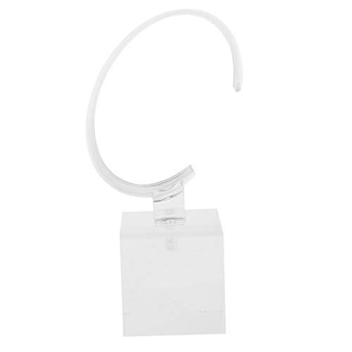 perfk Schmck Display Stand Acryl Uhrenständer zum Uhren oder Armbänder Anzeigen Armband-Präsentationsständer - 4 cm Transparent