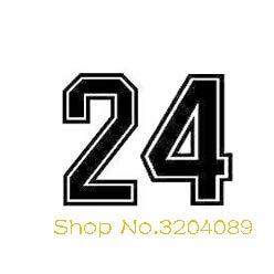 Jugador de baloncesto Ropa Números Espíritu Mamba Pegatinas de Pared Arte Decoración Para El Hogar Tatuajes de Sala Murales Autoadhesivos 72 * 56 CM