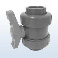 FIP robinet, 2 connexions, manchon 32 mm