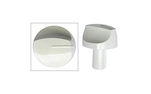 BOUTON DE GAZ BLANC POUR CUISINIERE ARTHUR MARTIN ELECTROLUX - 355029101