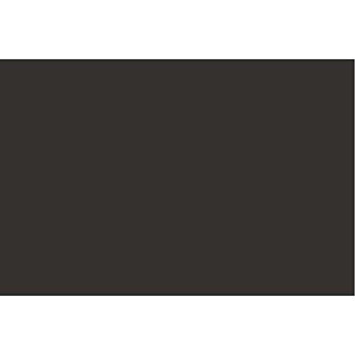 Tarjeta de colores, A2, 420 x 600 mm, 180 g, color negro carbón, 10 hojas