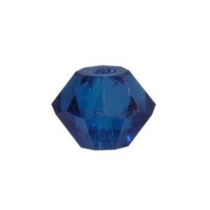Bicono SWAROVSKI capri blue 3mm (40)