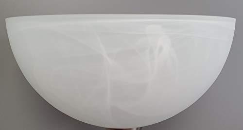 Fluter E27 Ersatzglas alabasterfarbig Ø30cm Stehleuchte Lampe Leuchte Pendel
