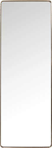 Kare Design Miroir Curve rectangulaire cuivre 200x70cm
