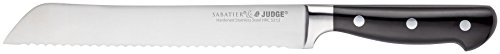 Judge IC14 Bread Knife, Black, 20 cm