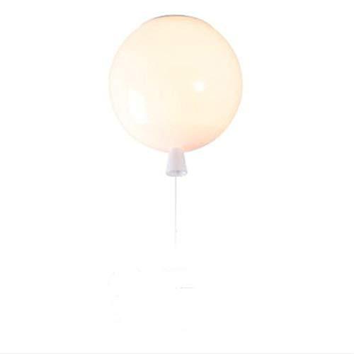 Moderna lampada da soffitto a LED a sospensione, colore palloncino, decorazione per camera da letto, lampada da soffitto per cameretta dei bambini, decorazione per feste, Ø 20 cm, bianco 5.00W 220.00V