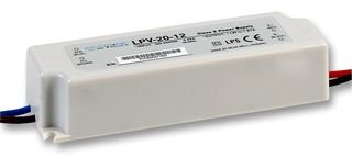 MEAN WELL LPV-60-48 60 W Single Output 1.25 A 48 Vdc Output Max Switching Power Supply - 1 item(s)