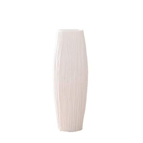 HQQSC Botella jarrones de Porcelana de Estar Elegante del diseño la decoración del hogar de la Flor Jarrón (Size : A)