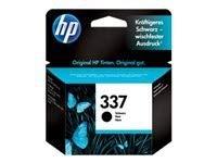 HP Pack de 1 cartuchos de tinta original 337 de capacidad estándar de 11 ml para 400 páginas