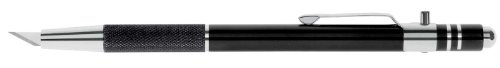 Wedo 78630 Skalpell Druckknopfmesser Deluxe (mit versenkbarer Klinge)