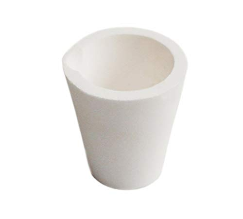 OTOOLWORLD Ceramic Melting Crucible Cup Furnace Melting Casting Refining Gold Silver Copper Casting CUP 200g