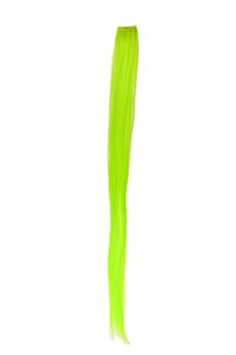 WIG ME UP - YZF-P1S25-TF2606 Extension clip-in mèche lisse vert clair 63cm/ 25inch
