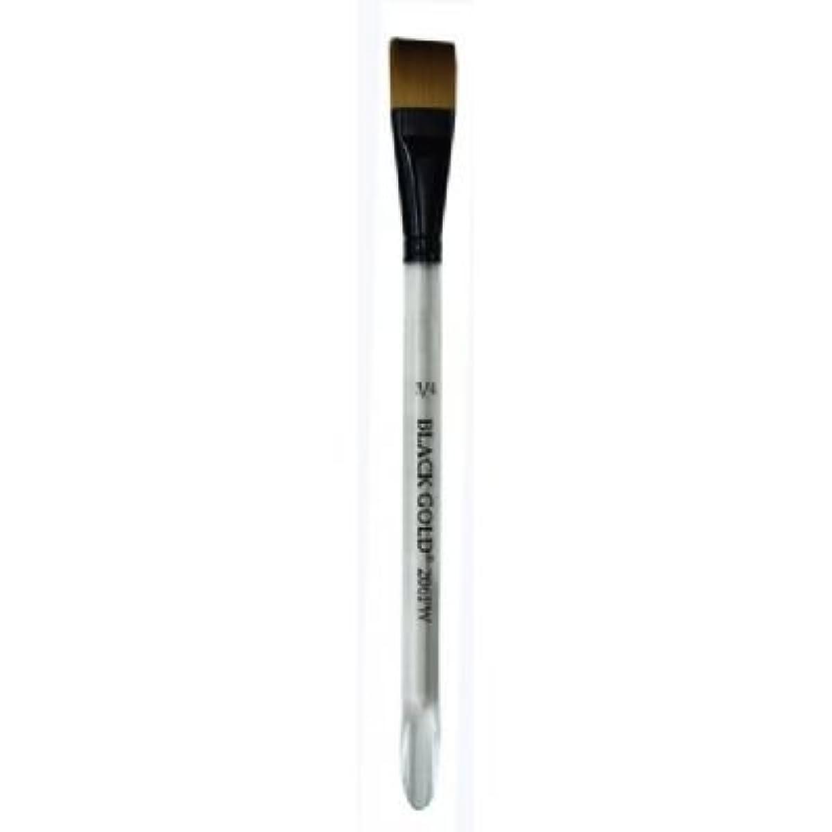 Dynasty Black Gold Series 206FW - Flat Wash Brushes - Size 3/4 (one brush)