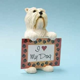 West Highland Terrier Dog Photo Frame by Swibco