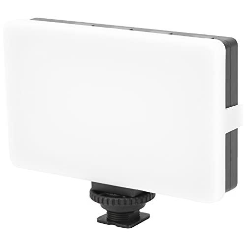 CL-120A LED-Videoleuchte , Eingebaute LED-Kameralampe mit 2700-mAh-Batterie, mit weicher Platte, weichem Licht, nicht blendend, für Live-Fotografie und andere Szenen, die Licht füllen