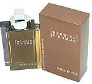 MEMOIRE D'HOMME by Nina Ricci EDT SPRAY VIAL MINI