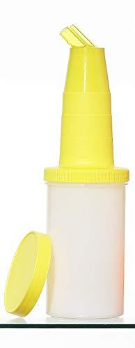 Garnet 6000-G Speed Bottle da 1 lt – Contenitore di succhi e sciroppi – 1 Pezzo – Il Barattolo è Dotato di Tappo di Chiusura-Made in Italy, Plastica
