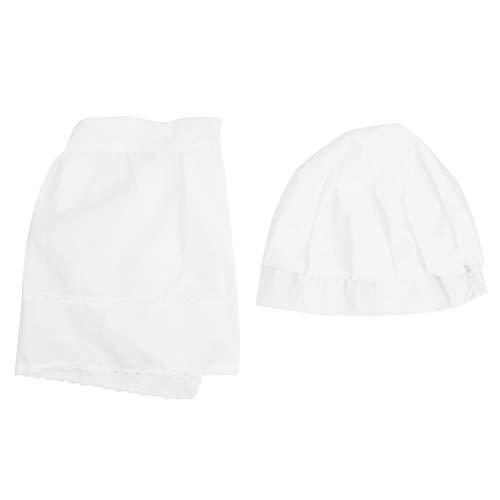 WNSC Sombrero del Delantal del beb, Sombrero Blanco del Delantal del beb, Hermoso de Moda para el beb de los nios