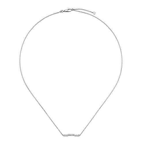 Collar Gucci Link to Love con diamantes YBB66213200100U