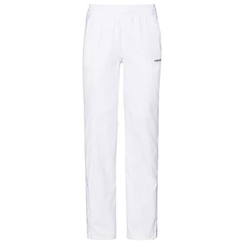 HEAD Damen Club Pants W Tracksuits, White, S