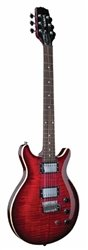 HAMER XT Standard Guitar - Dark Cherry Burst